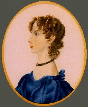 Anne Brontë, por Charlotte Brontë